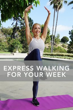 Express Walking for Your Week