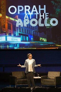 Oprah at the Apollo