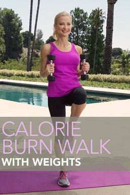 Calorie Burn Walk: Weights
