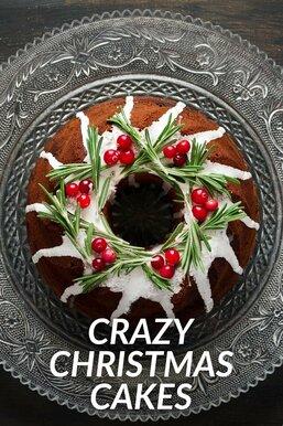 Crazy Christmas Cakes
