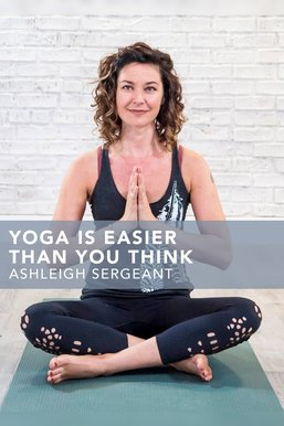 Yoga is Easier Than You Think