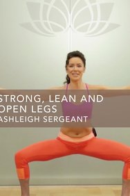 Strong, Lean and Open Legs