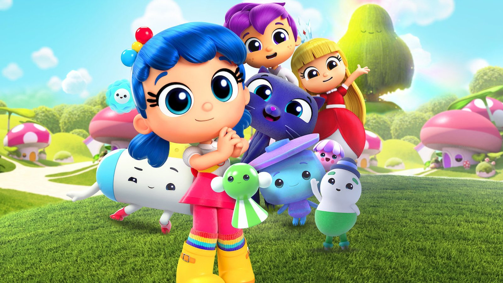 True and the Rainbow Kingdom: Mushroom Town