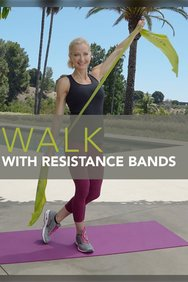Walk with Resistance Bands