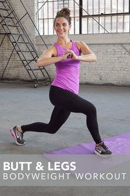 Butt & Legs Bodyweight Workout