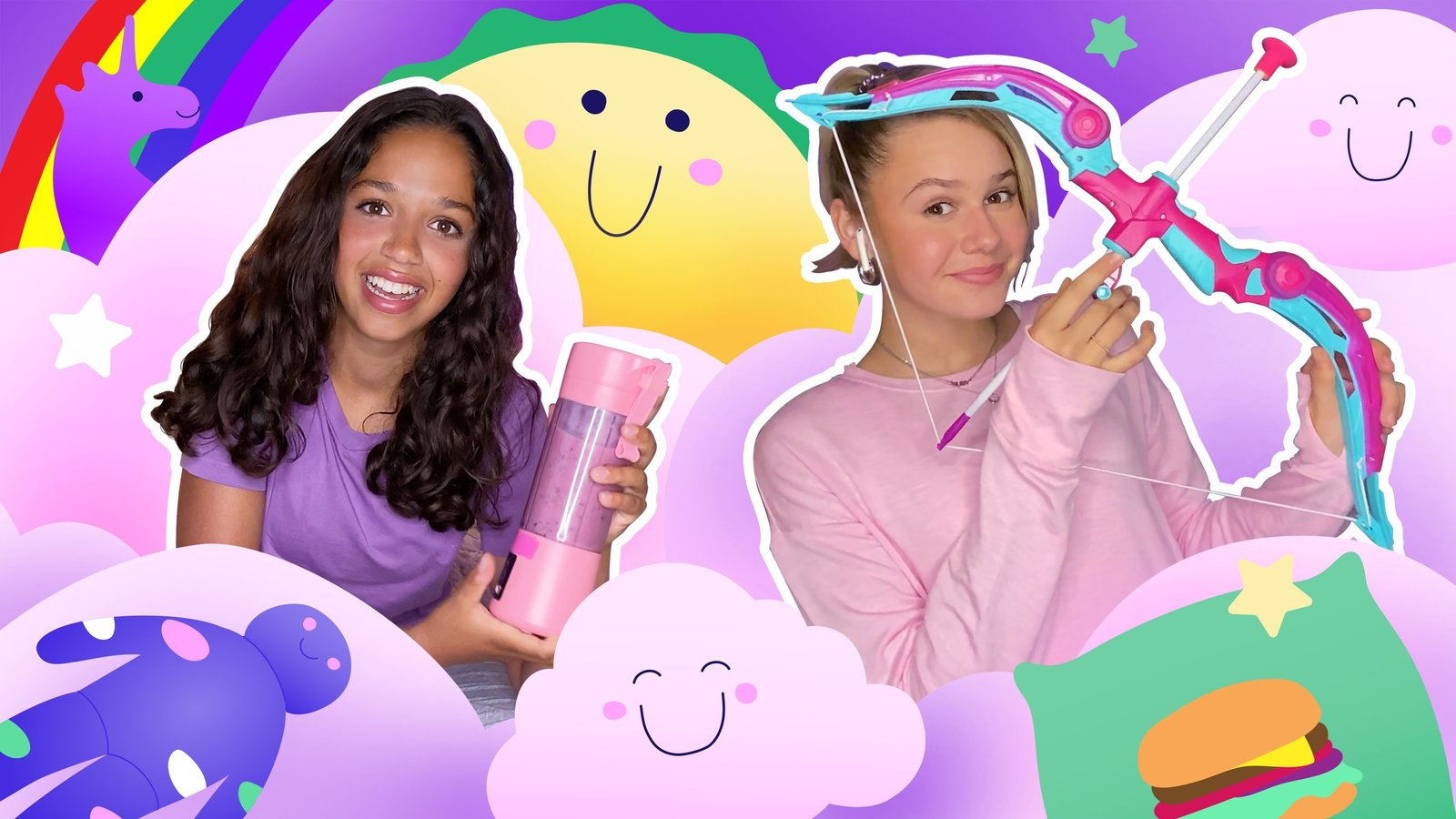 Ruth & Ruby Virtual Sleepover Challenges